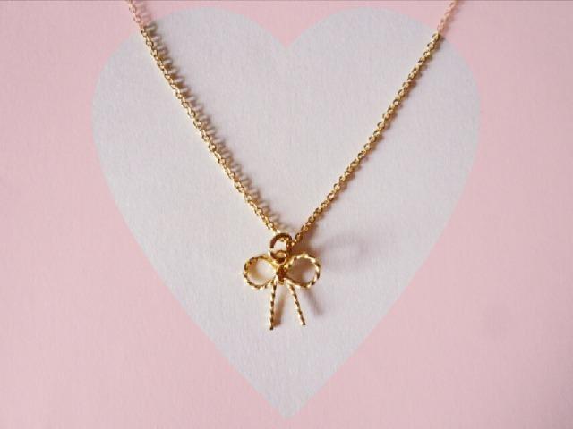 大人女子風 ribbon necklace*