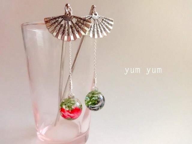 金魚玉簪【赤】