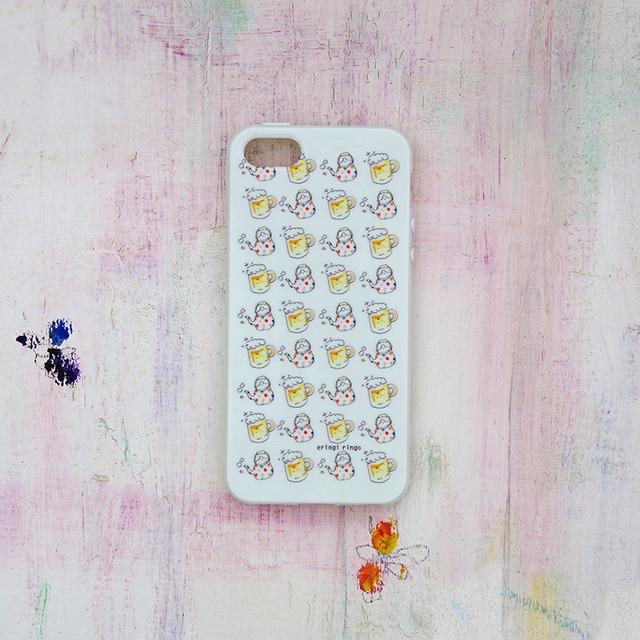 ビールとあたたかいの iPhone case(5/5S)