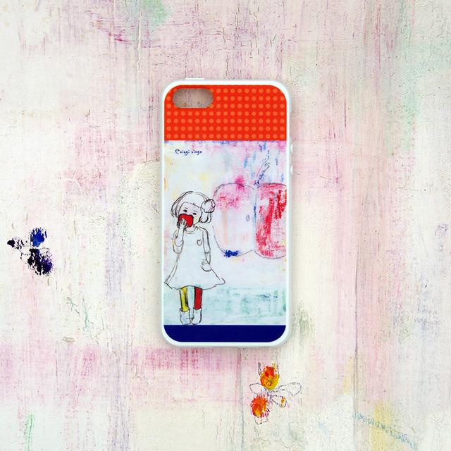 おんなのことりんご iPhone case(5/5S)