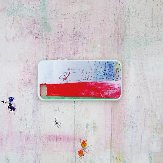 スタイルには自信がある子ブタさん iPhone case(5/5S)
