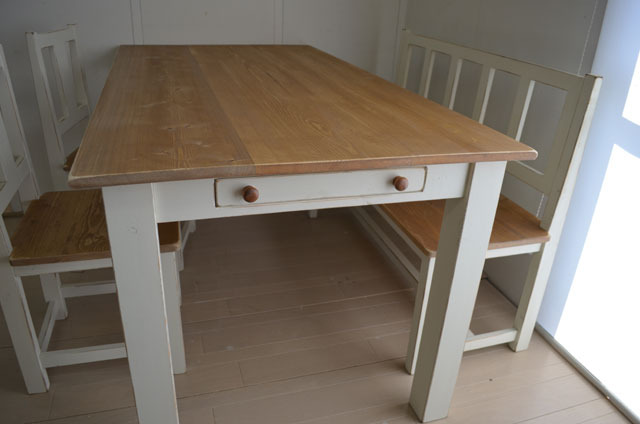 【 Side Drawer Dining table 】〜 受注製作〜