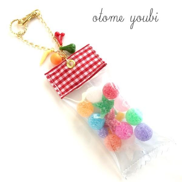 フルーツ味いろいろ!Candy Shopなバッグチャーム〇☆B