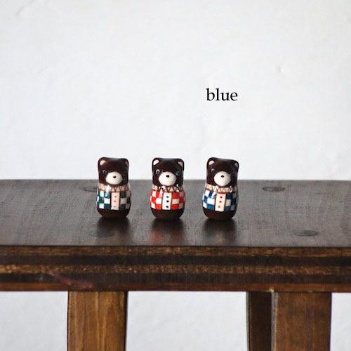 クマのフェーブ(青服)