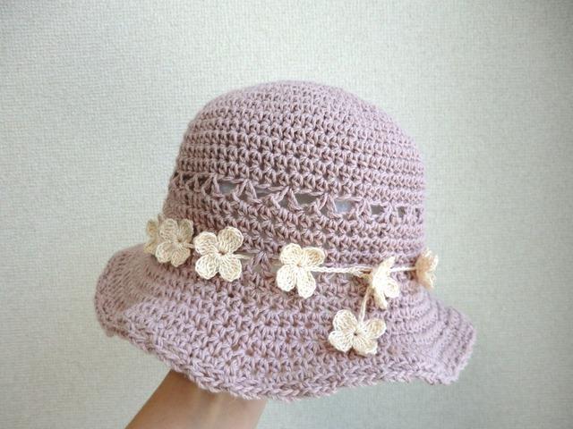 折りたたみOK!花冠の帽子 50cm