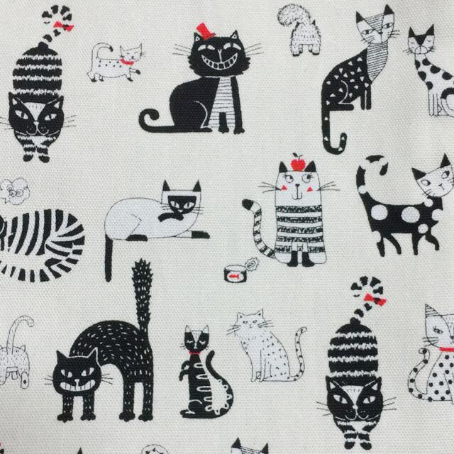 かわいい猫いっぱい♡ネコ柄巾着