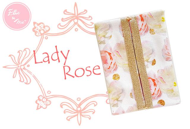 Lady Rose 華やかポケットティッシュケース