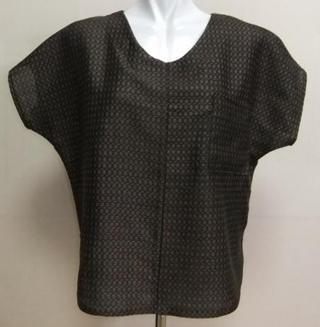 着物リメイク 正絹の着物で作ったTシャツ 1603