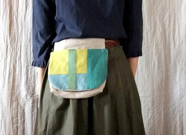 itoiro w-pouch (green)