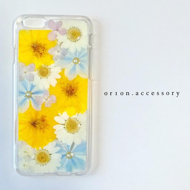 iphone6/6sケース(パール付)