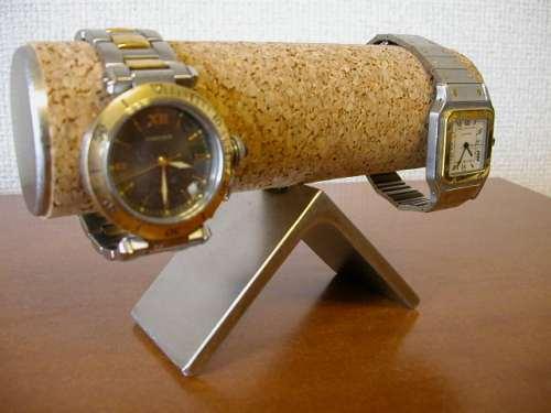 すねた顔の腕時計スタンド