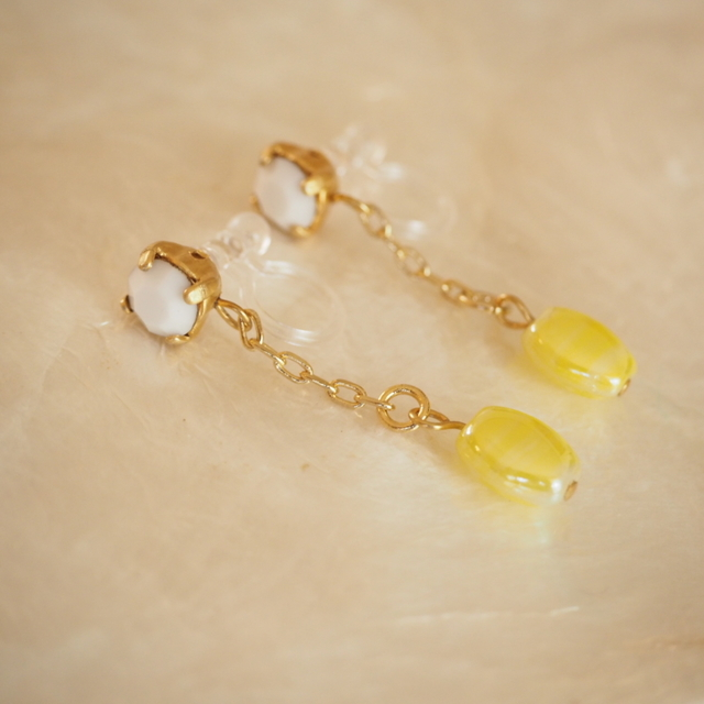 earrings #v-33 Lemonade
