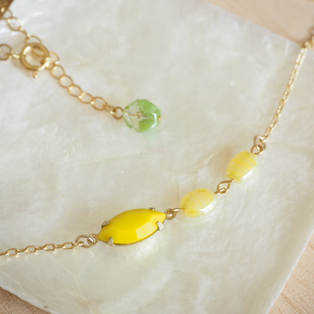 necklace #v-34 Lemonade