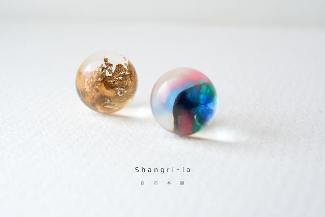 Shangri-la(イヤリング/レジンアクセサリー)