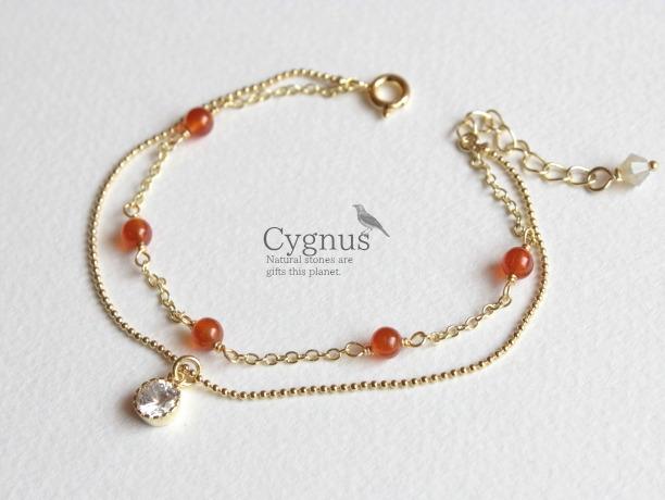 cygnus/カーネリアンAAA 7月誕生石