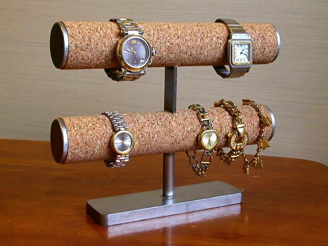 2段腕時計スタンド