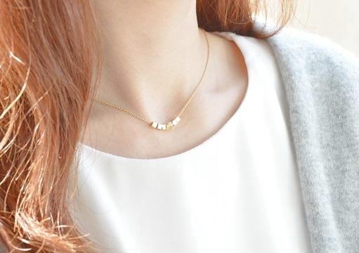 四角 しかく シカク ■ ネックレス