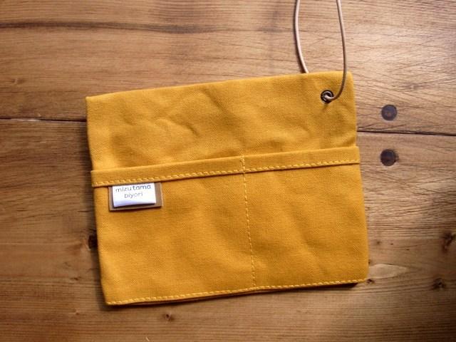 ��strap pocket�� yellow