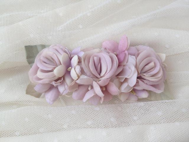 Lavender flowersバレッタ