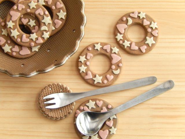 ドーナッツのスプーンレスト(1個)