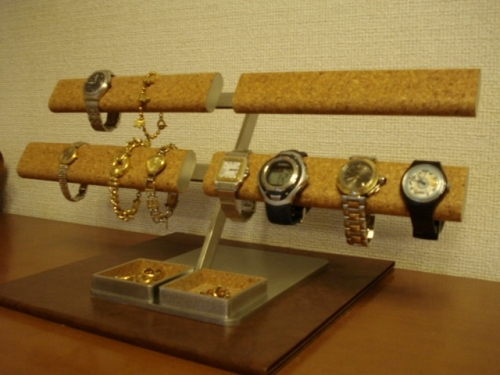 腕時計スタンド だ円パイプロング16本掛け