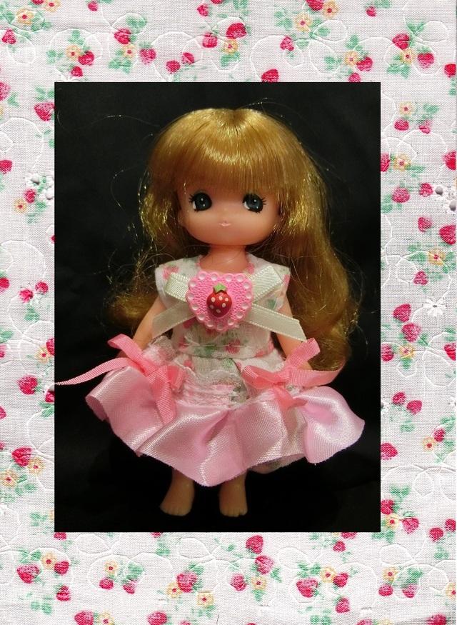 ミキ&マキちゃん 花×リボン&イチゴ×リボン 2点セット