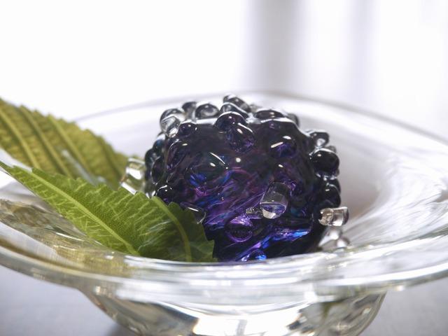 三角ボール&紫陽花