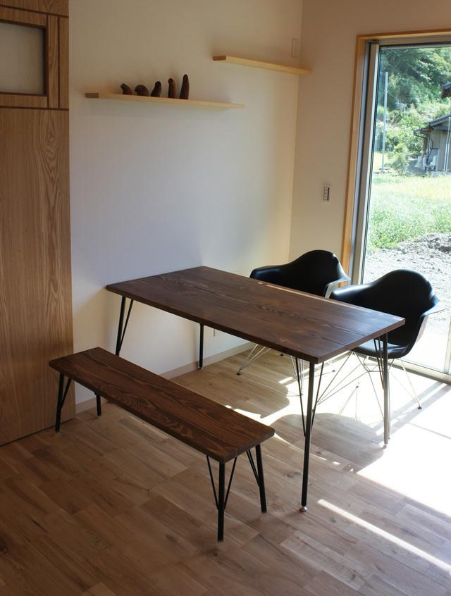 kumiko0814�����ѡ�Lalix forest bench set 12*75 (W)