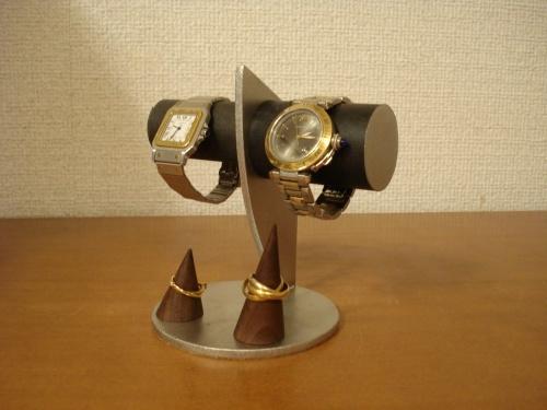 ブラックカップル腕時計スタンド