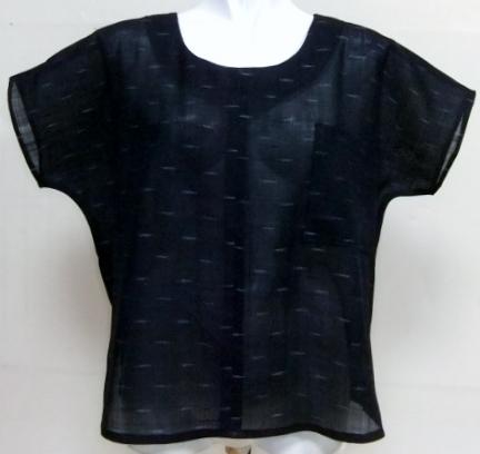 着物リメイク 紗の着物で作ったTシャツ 1618