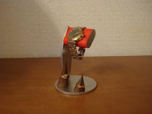 ちょっと背が高いシングルレッドコルク腕時計スタンド  指輪スタンド