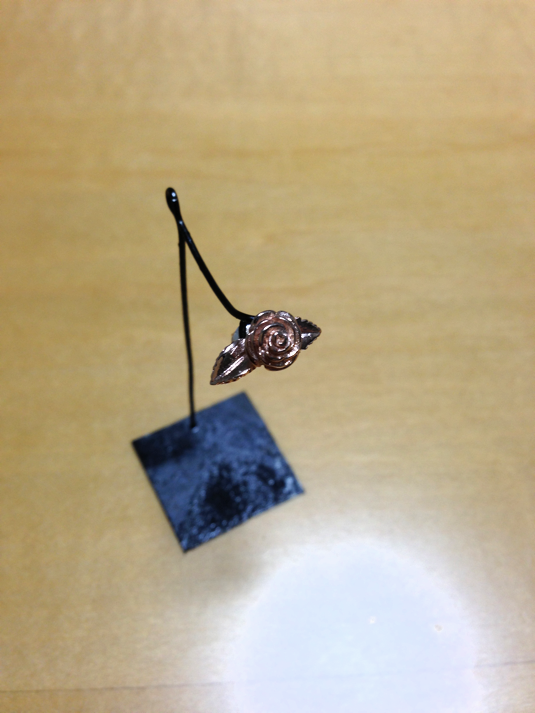 rose pierce pink gold 双葉