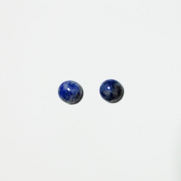 sodalite round pierce