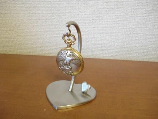 ハートデザイン懐中時計スタンド