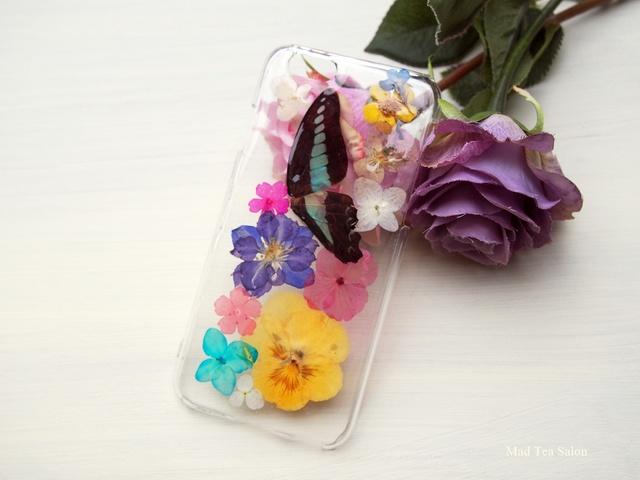 アオスジアゲハのflower iphone6.6sカバー