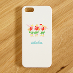 SALE!!!【iPhone/Android対応】aloha hula girls color スマートフォンケース