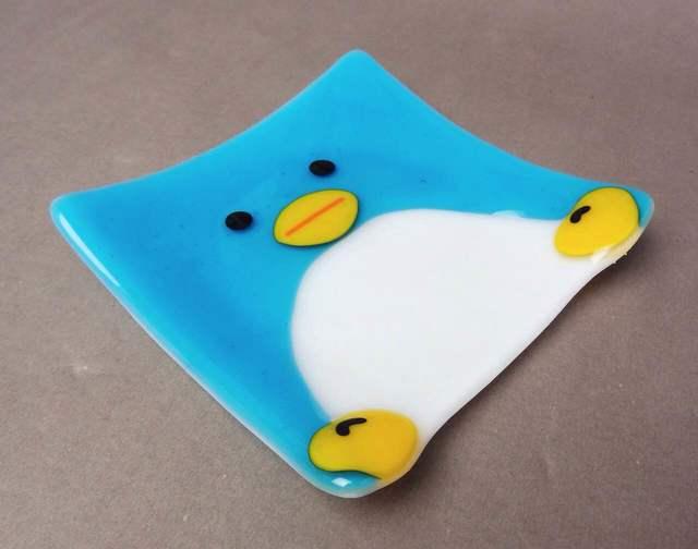 ペンギンのお皿
