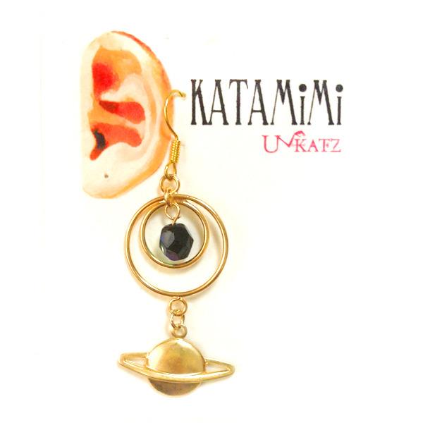 KATAMiMi NO.22 土星の片耳ピアス