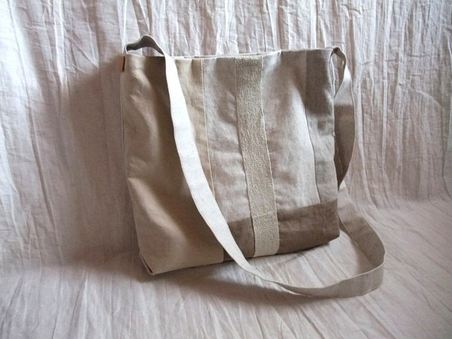 itoiro shoulder bag (beige)