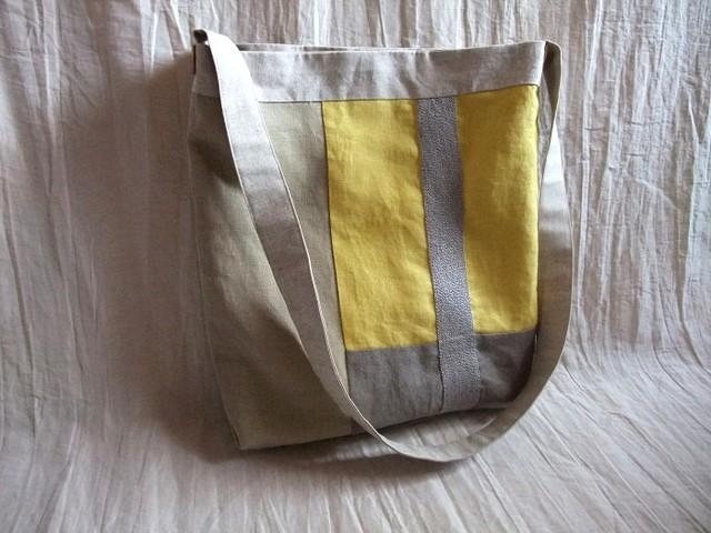 itoiro shoulder bag (yellow)