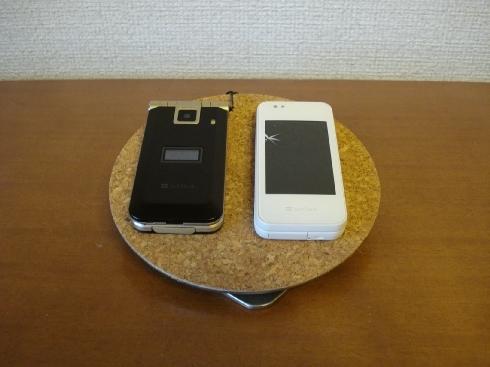 アクセサリー&携帯電話少し角度付きステージスタンド