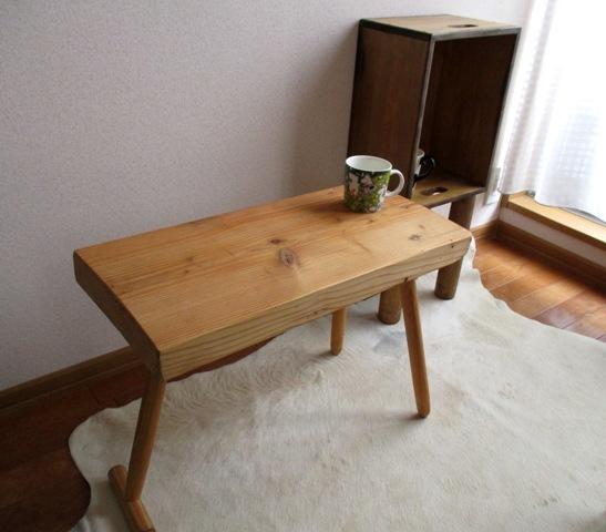 【木工部再開】アンティーク風リメイク家具 お部屋のカフェテーブル