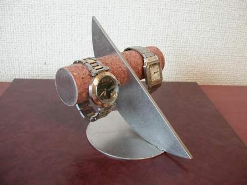 時計 収納 三日月支柱2本掛け腕時計インテリアスタンド