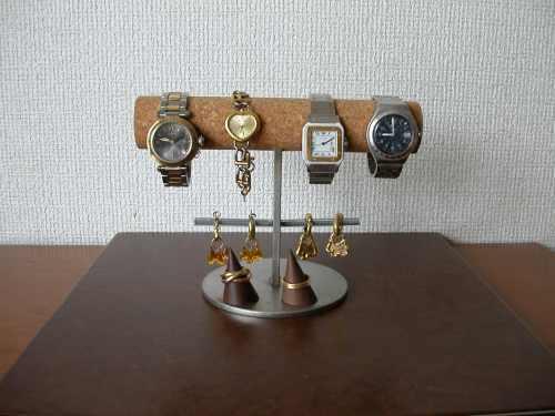 \t 腕時計、イヤリング、リングスタンド