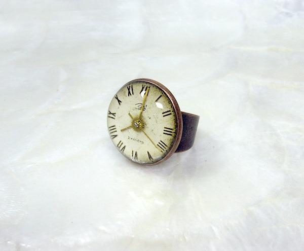 時計石の指輪・参