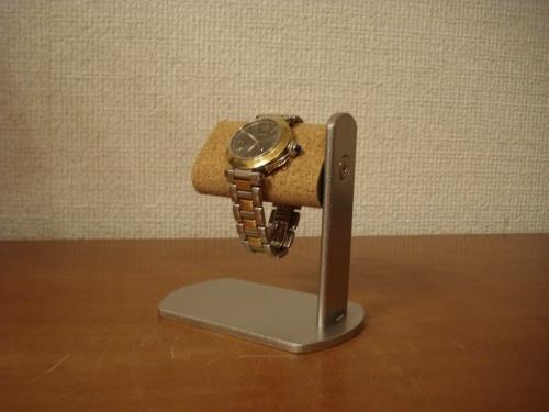 腕時計スタンド プラスドライバーでだ円パイプの角度を変えられる腕時計スタンド