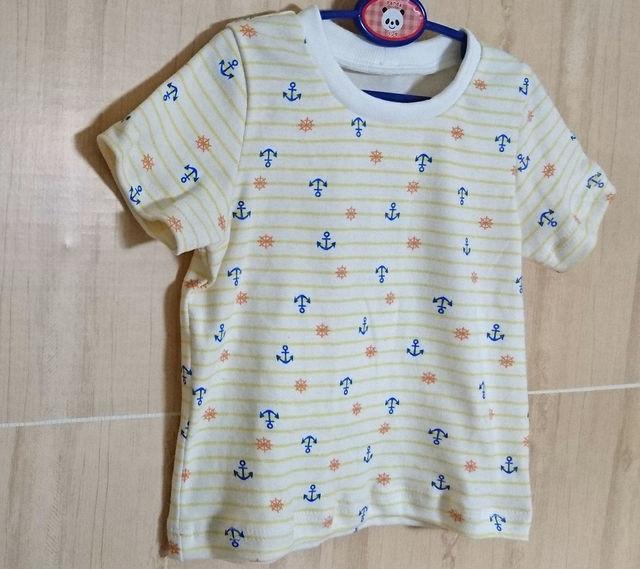 YマリンボーダーTシャツ110  セール