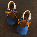 Baby boots * majolica blue