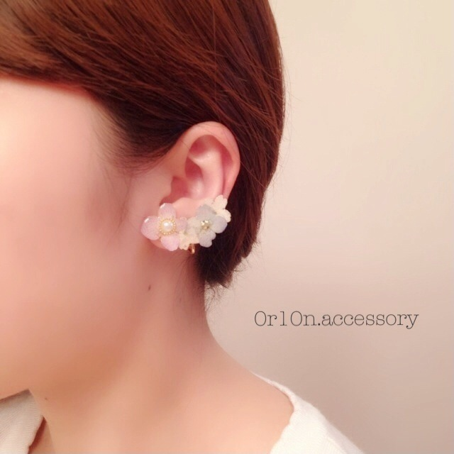 flower Earring.【no/1】