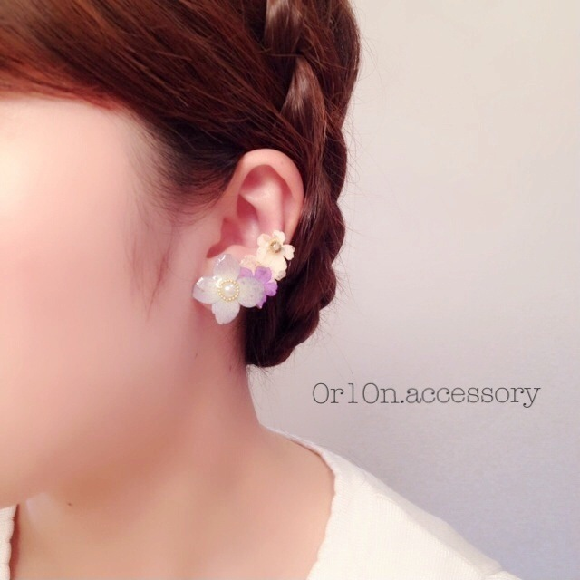 flower Earring.【no/4】